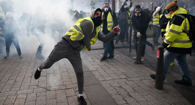 France's 'Yellow Vests': A Movement Of Many Shades