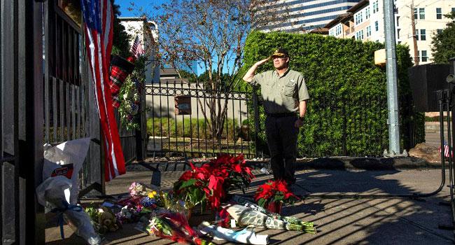 Week Of Solemn Tributes For Former U.S. President George H.W. Bush
