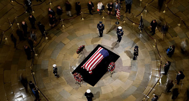 Kosovo Declares Day Of Mourning For Late US President Bush