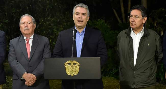 Colombia Condemns Alleged Plot To Kill President
