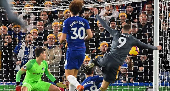 Vardy Strikes As Leicester Stun Chelsea