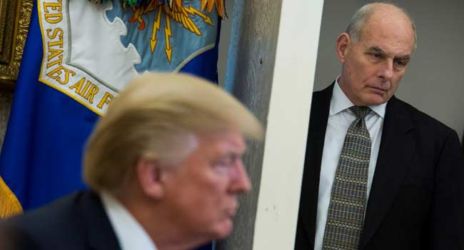 White House Chief Of Staff Leaving Soon – Trump