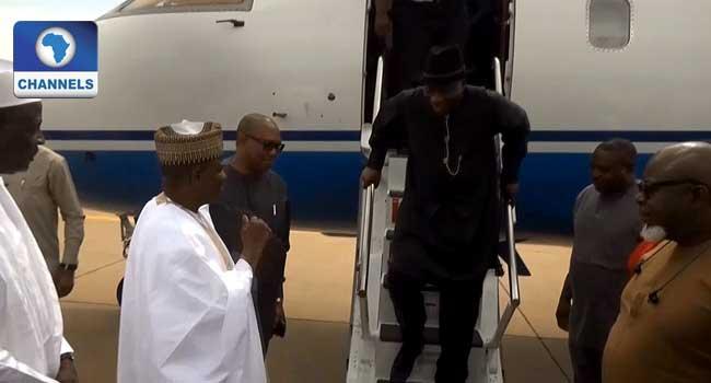 Jonathan, Obi Pay Condolence Visit To Shagari's Family