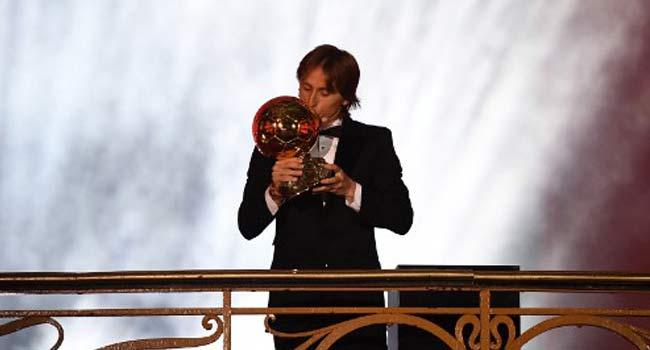 Luka Modric Beats French World Cup Stars To Win Ballon d'Or