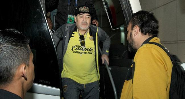 Maradona's Club Fall Short In Second-Division Final