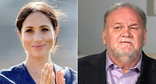 Thomas Markle Seeks Reconciliation With Daughter, Meghan