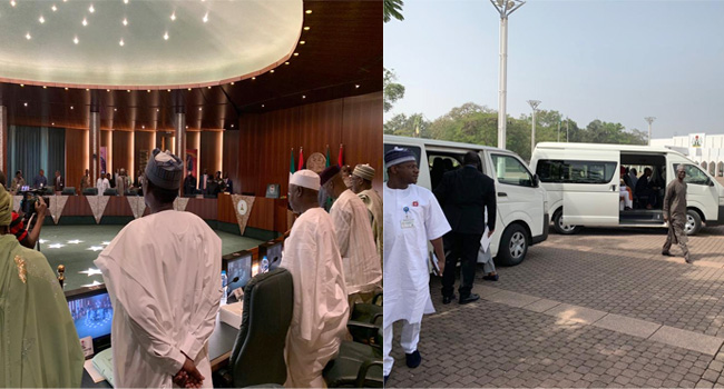 Ministers Head To NASS As FEC Meeting Ends