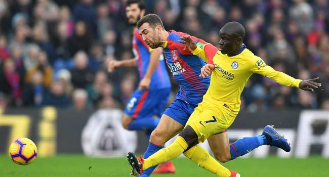 Kante's Goal Secures Palace Coup For Chelsea