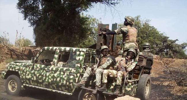 Troops Subdue Boko Haram/ISWAP Terrorists In Geidam, Yobe