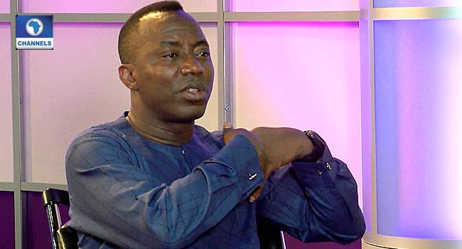 Sowore: 'Stop Desecrating The Courts', NHRC Boss Tells Law Enforcement Agents