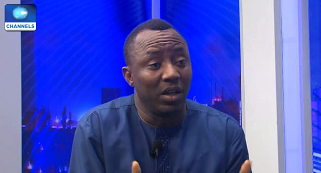 #Revolutionnow Protest: Court Orders FG, DSS To Explain Sowore's Detention