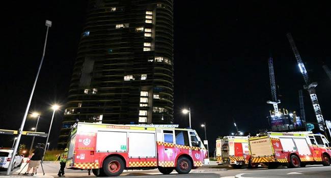 Cracking' Sydney Tower Residents Evacuated Again