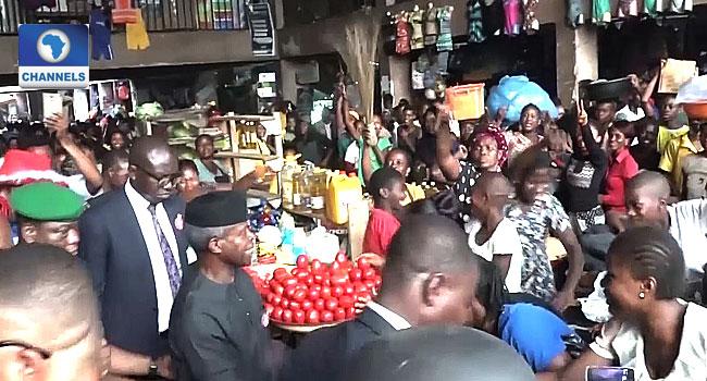 Osinbajo Launches Tradermoni In Delta Insists Scheme Has No Political Undertone