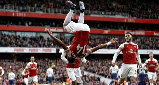 Why Arsenal Fought Back, Beat Tottenham – Aubameyang