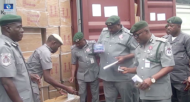 Customs Seize N3.06bn Worth Of Tramadol In Rivers