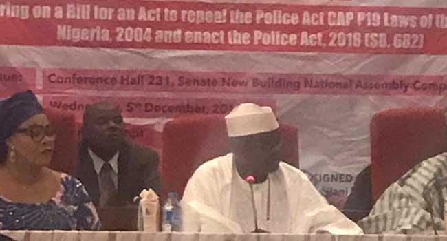 Senate Holds Public Hearing On Police Reform Bill