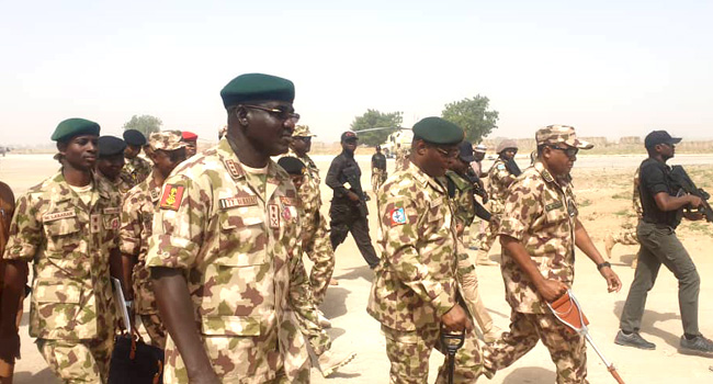 Service Chiefs Visit Borno, Evaluate War Against Boko Haram