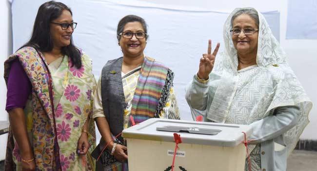 Bangladesh PM Wins Election Landslide As Opponents Demand New Vote