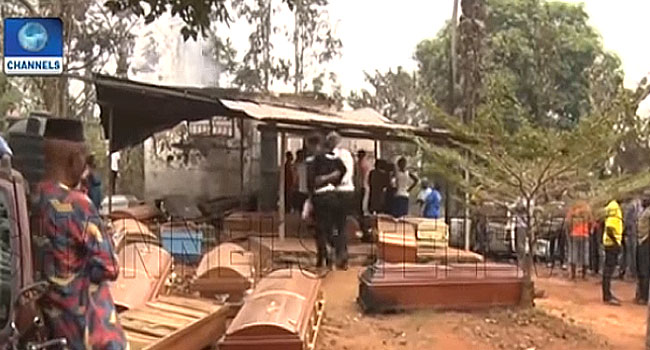 Corpses Burnt Beyond Recognition As Fire Guts Mortuary In Anambra