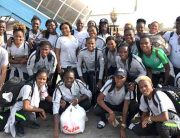 December To Remember: Falcons Arrive In Abuja As Nigerians Praise Team