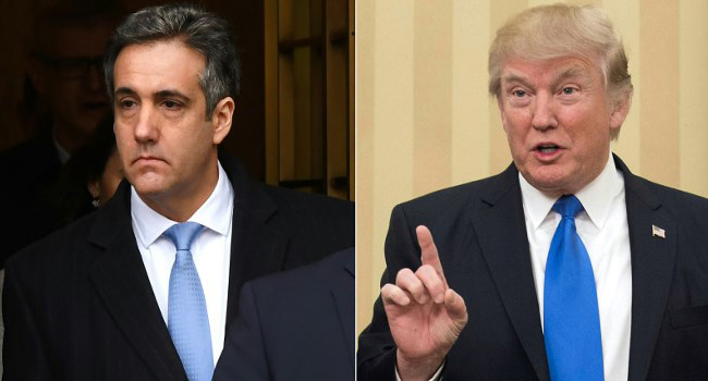 Ex-Trump Lawyer Cohen Ordered To Testify In Senate