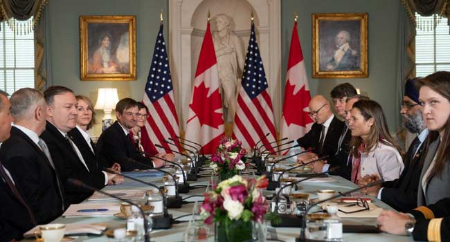 US, Canada Meet Amid Standoff With China