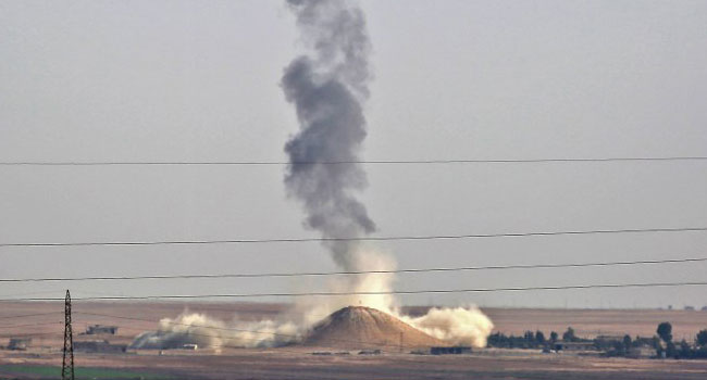 US-Led Coalition Air Strikes Leaves 27 Dead In Eastern Syria