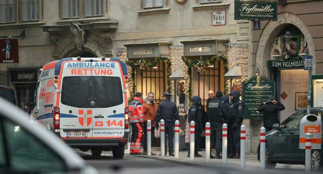 Vienna Shooting Leaves One Dead, Another Injured