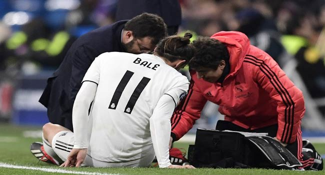 Ankle Injury Rules Bale Out Of Rayo Vallecano Match