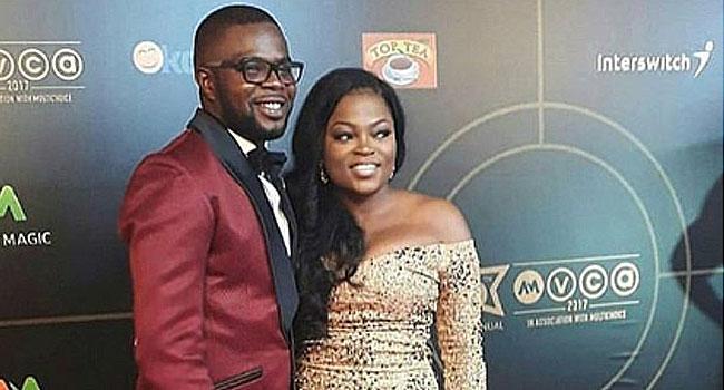 Funke Akindele, Husband Welcome Set Of Twins