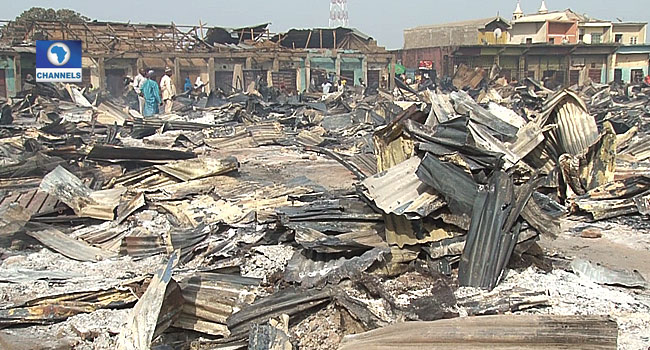 Fire Guts Property Worth Millions In Nasarawa Market