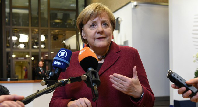 Merkel Pledges Support To Ukraine After Zelensky Win