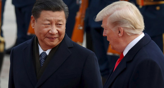 Trump Bans US Investment In Chinese Firms That Help Military