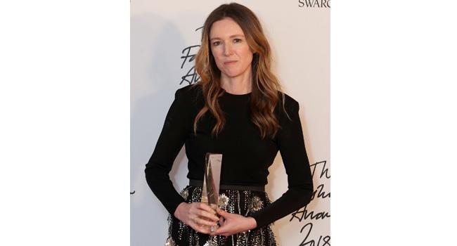 Meghan Presents Fashion Award To Wedding Dress Designer – Waight Keller