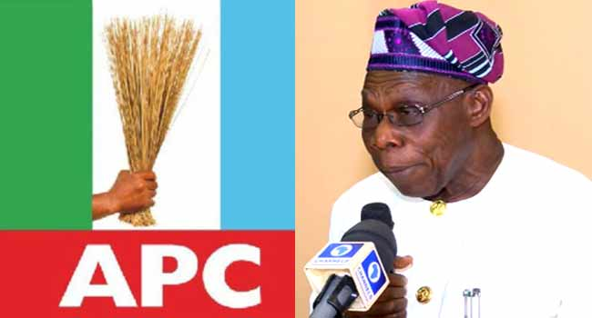 APC Replies Obasanjo, Says Buhari's Achievements Will Speak For Him