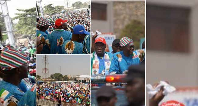 Three Shot, Many Injured As Fighting Disrupts APC Rally In Lagos