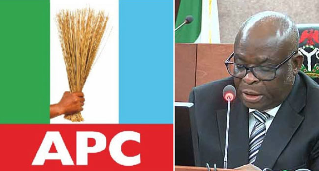 APC Insists Justice Onnoghen Must Stand Trial