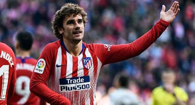 Griezmann On Target Again As Atletico Edge Closer To Barcelona