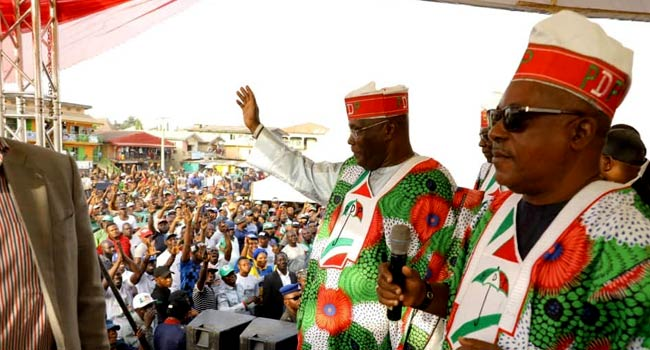General Elections: Atiku Campaigns In Taraba, Promises To End Insecurity