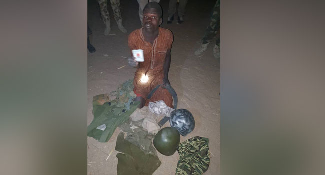 Army Arrests Wanted Boko Haram Terrorist In Borno State