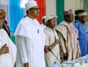 Buhari Holds First Campaign Council Meeting, Osinbajo, APC Governors Absent