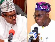 Criticising Buhari Not Personal, I Am His Boss – Obasanjo