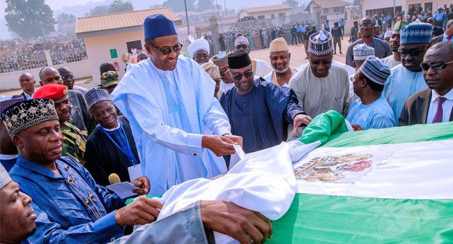 President Buhari Commissions Baro Inland Water Port In Niger State