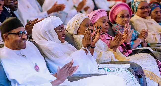 Buhari Inaugurates Women, Youths Campaign Team For General Elections