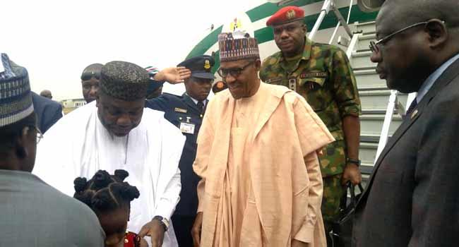 Buhari Visits Enugu, Anambra States