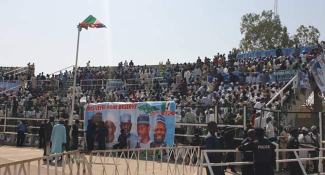 President Buhari Arrives Kano Ahead Of Presidential Rally