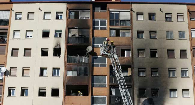 Three Die, Baby Critically Injured In Spain Building Fire