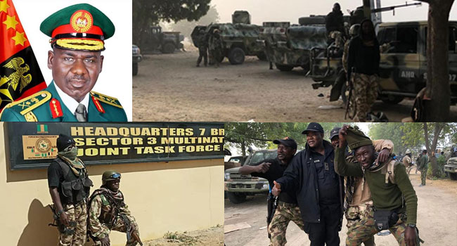 'Victory Is Near': Buratai Commends Troops For Dislodging Boko Haram From Baga