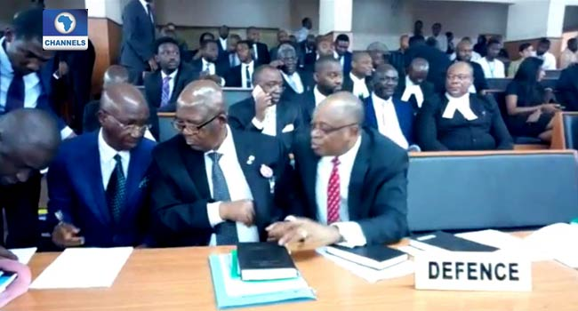 Tribunal Adjourns CJN Onnoghen's Trial Till Next Week