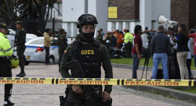 21 Dead In Car Bomb Attack On Colombian Police Academy